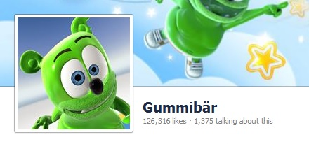 Announcing The Gummibär Facebook Page