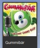 Gummibär MySpace Page