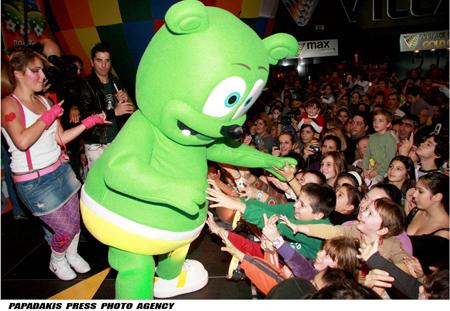Gummibar On Stage