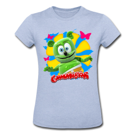 Gummibär Butterflies Ladies Shirt