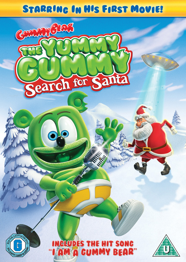 Yummy Gummy Search For Santa UK Cover