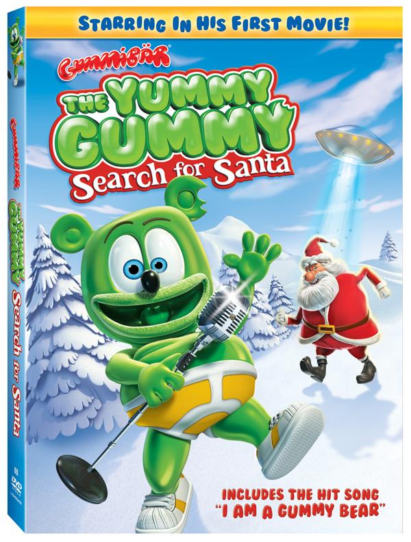 Yummy Gummy DVD Cover Art 600