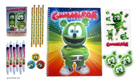 Win A Gummibär Deluxe School Supply