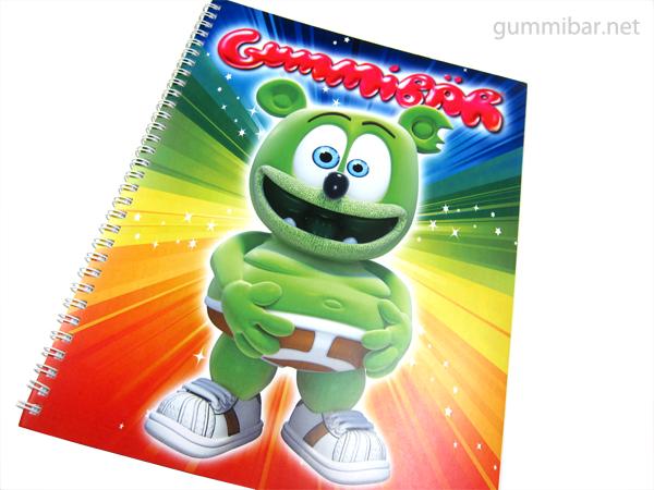 Gummibär Spiral Notebooks