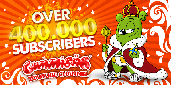 Gummibär YouTube Banner
