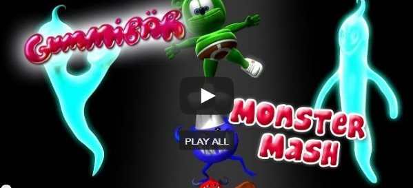 Monster Mash Happy Halloween