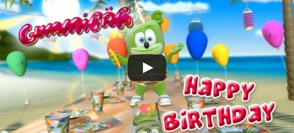 Happy Birthday Video Gummib r