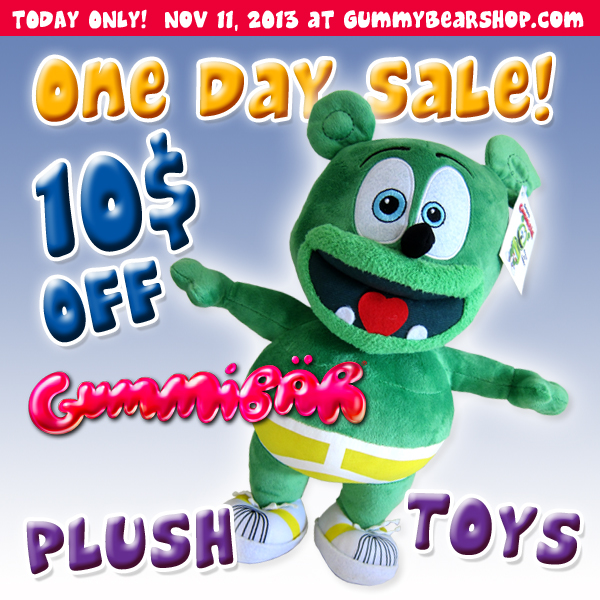 Gummibär Plush Toy Sale