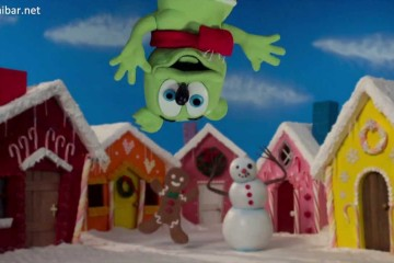 Xmas Town – Gummibär Claymation Video