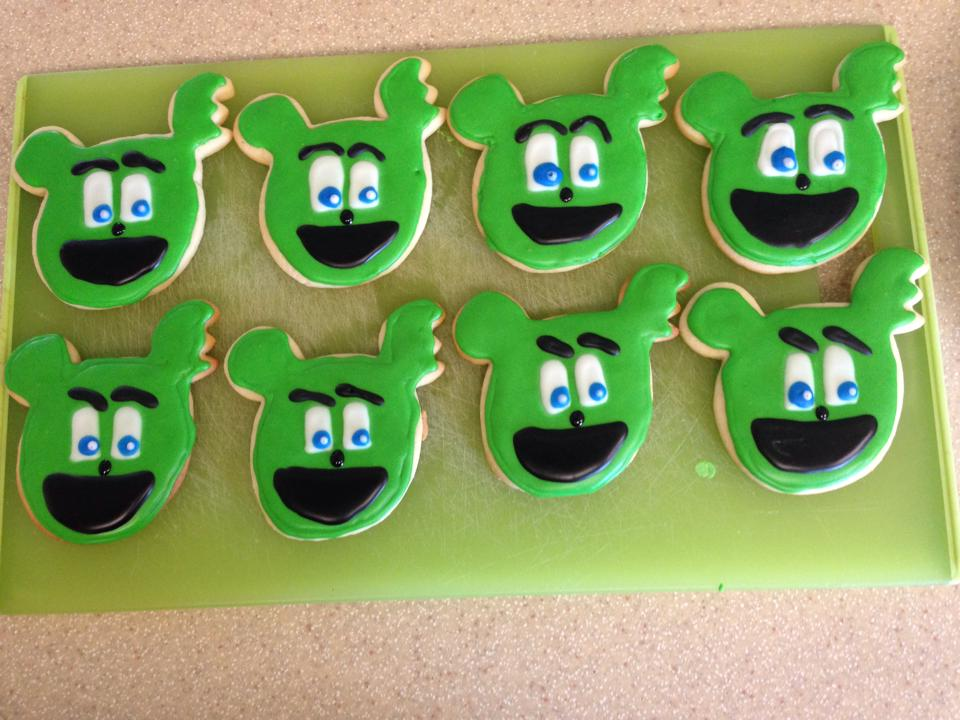 yummy gummibär cookies