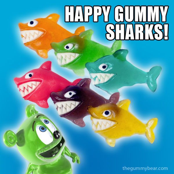 happy gummy sharks