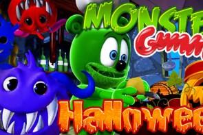 Gummibär Halloween Banner