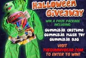 Gummibär Halloween Costume Giveaway
