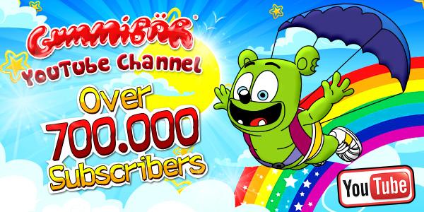 YouTube 700,000 Subscribers