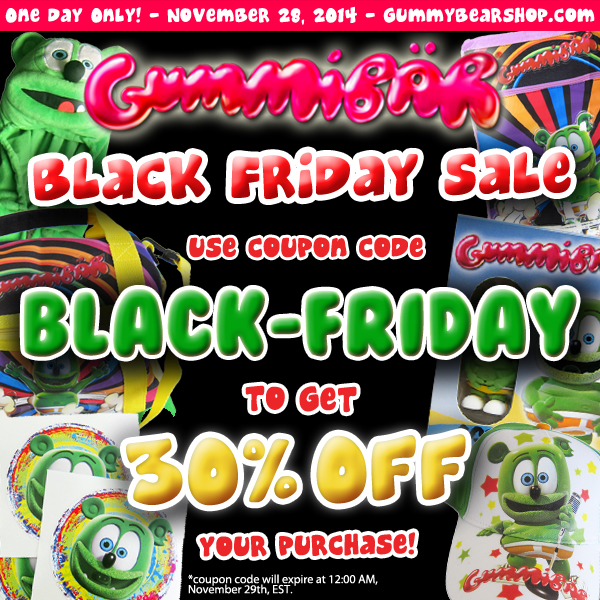 Gummibär Black Friday Sale
