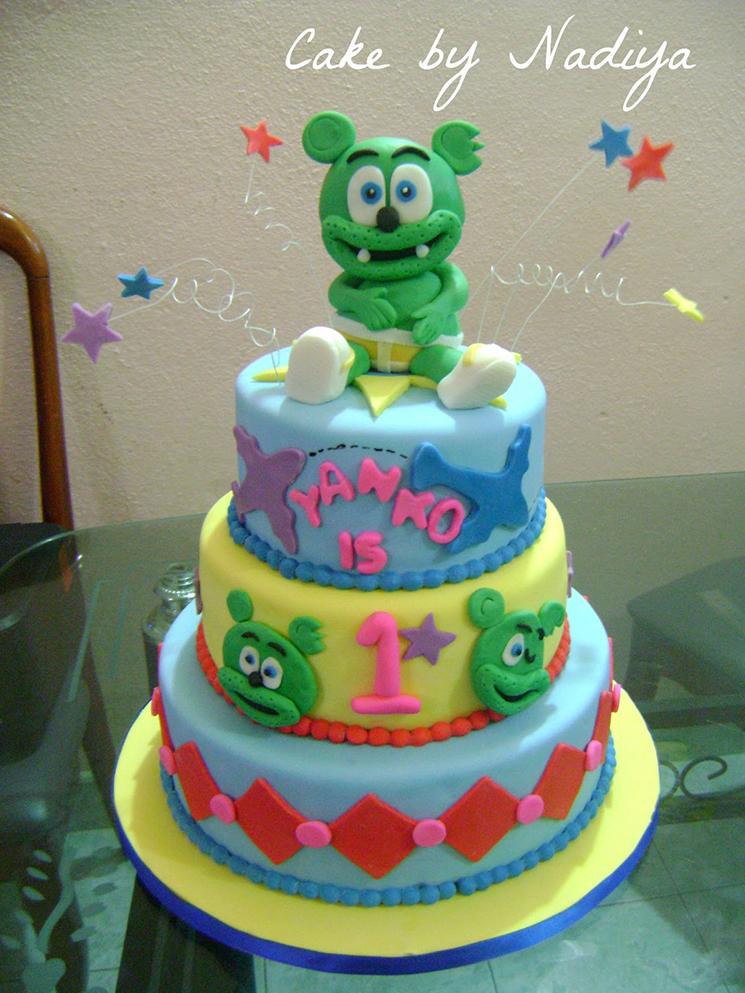 Gummibär Cake by Nadiya