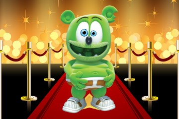 Nickelodeon Kids Choice Awards Hollywood Swag Bag Mr. Mister Gummibär