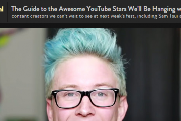 People Mag's Guide to VidCon YouTubers