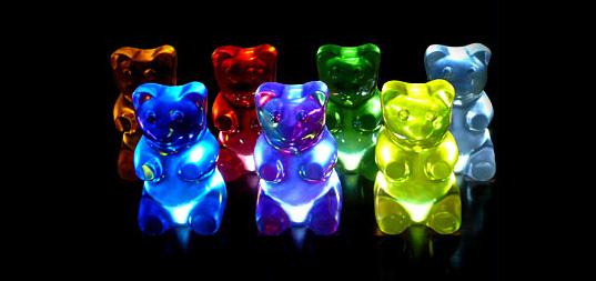 Gummy Bear Lights in the dark