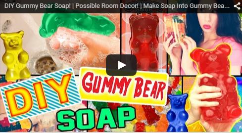 DIY Gummy Bear Soap