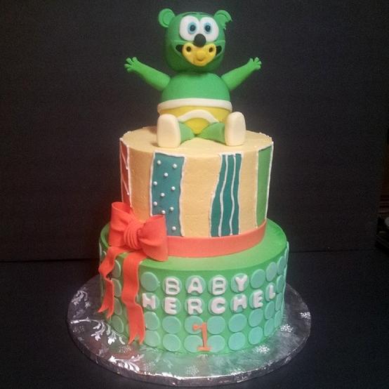 Gummibar Cake