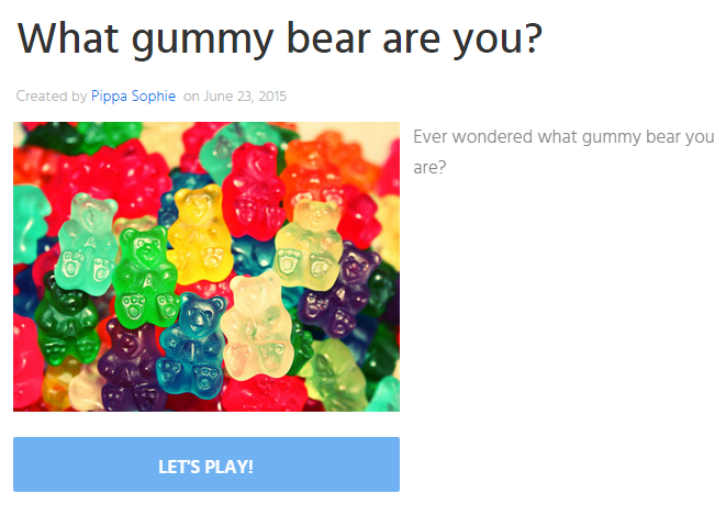 i want to meet you gummy bear