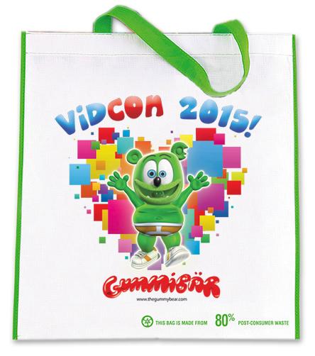 Gummibar Vidcon Bag
