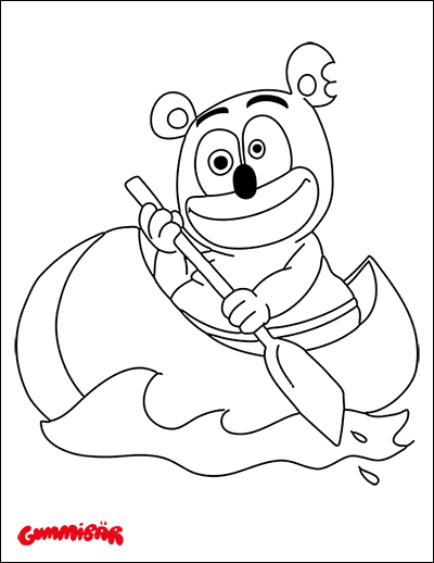 Download A Free Printable Gummibr Coloring Page September 2015