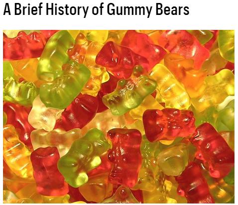 Bon Appetit's Brief History of Gummy Bears featuring Gummibar