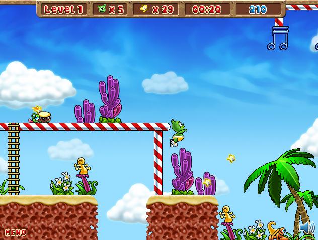 Screenshot of Gummy Bear Game