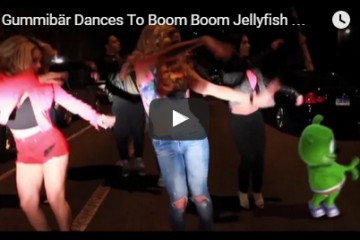 Gummibar does Jellyfish Dance Boom Boom Jellyfish DJ Jellyfish