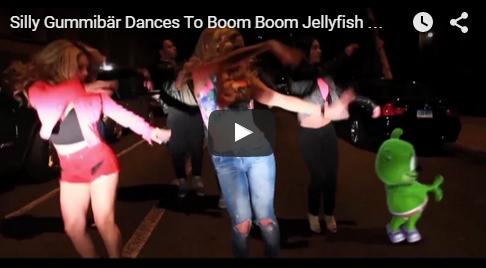 Gummibar does Jellyfish Dance Boom Boom Jellyfish DJ Jellyfish