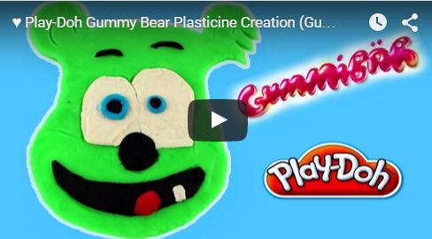 Gummy Bear Gummibar Play-Doh