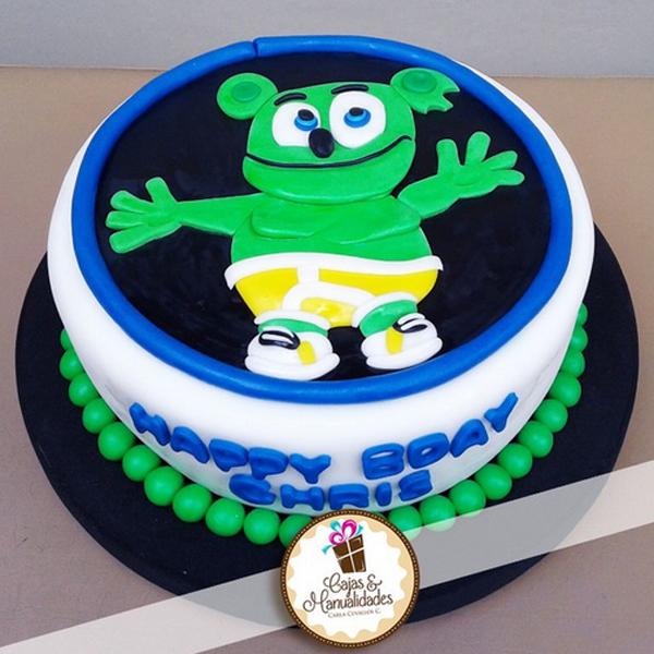 Gummibr Fan Chris Birthday Cake Gummibr