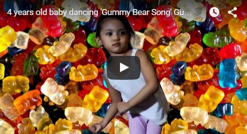 Gummy Bear Song Dance Video Gummibar Fan Cailee