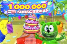 Gummibar One Million Subscribers YouTube GummyBearIntl The Gummy Bear Song