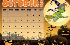 Gummibär Calendar Page