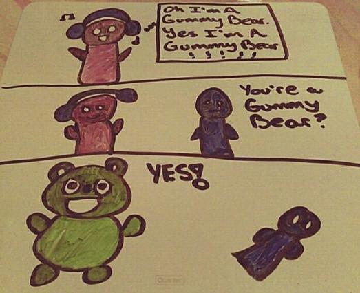 Gummy Bear Song Gummibar Comic