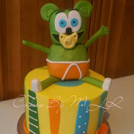 Gummibar Mini Cake Gummy Bear Song I'm a Gummy Bear