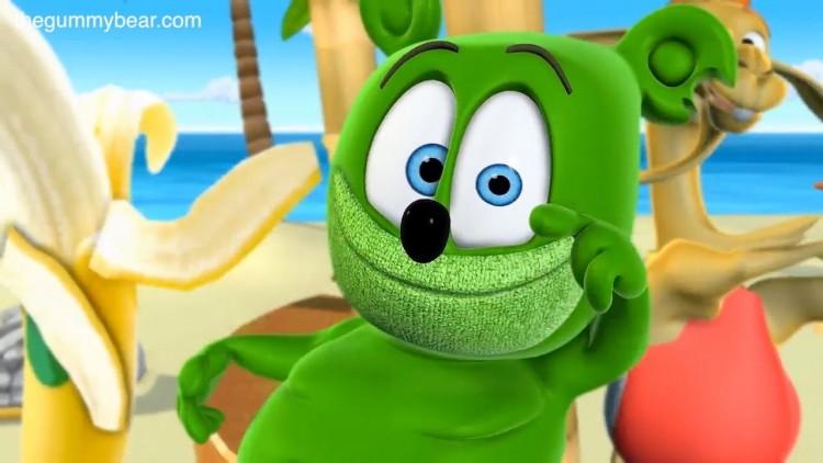 WIGGLE WIGGLE Gummibär The Gummy Bear Osito Gominola Ursinho Gummy Gumimaci