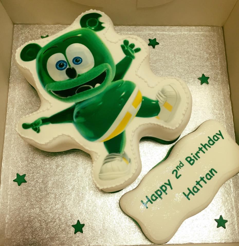 Dancing Gummibr Birthday Cake Gummibr