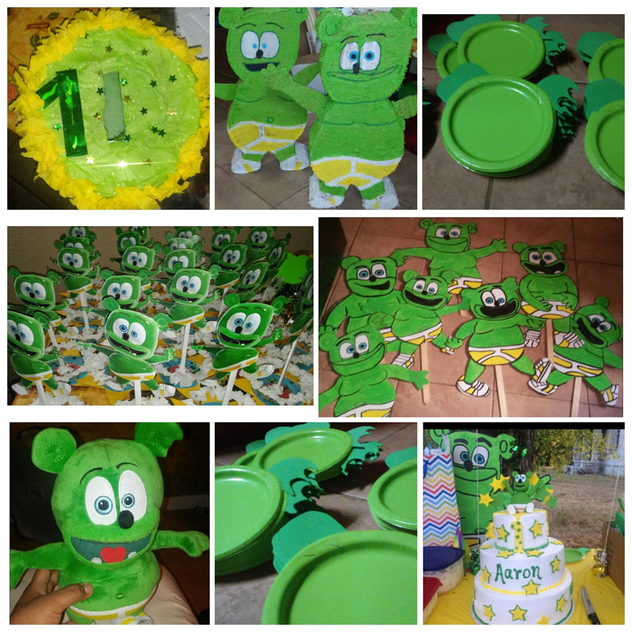 Gummy Bear Birthday Cake Ideas And Designs