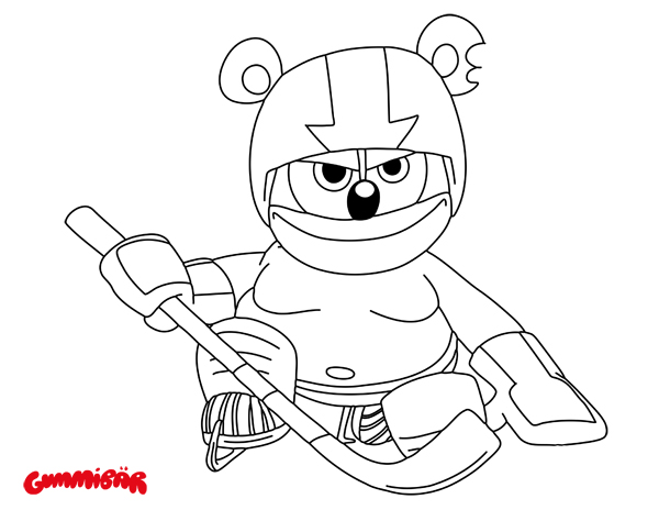 Download a Free Printable Gummib r November Coloring Page