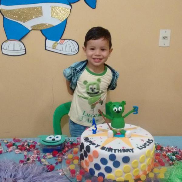 Gummibar The Gummy Bear Song Kids Birthday Cake