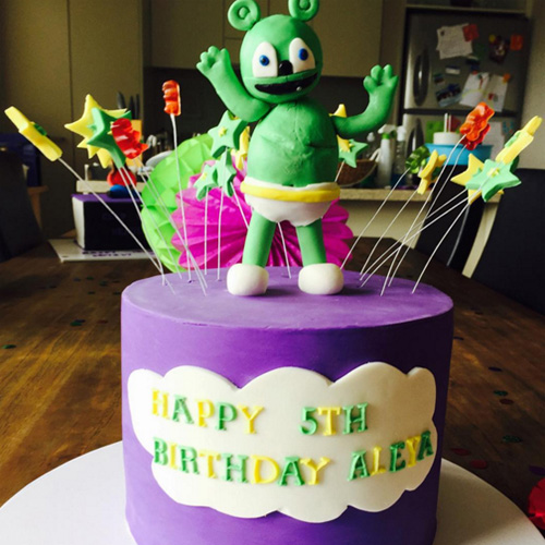 Gummibar Cake The Gummy Bear Song I'm a Gummy Bear Kids Birthday