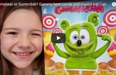 YouTube Babyteeth4 Gummibar Gummy Bear Candy Party Pop Gummy Bear Song