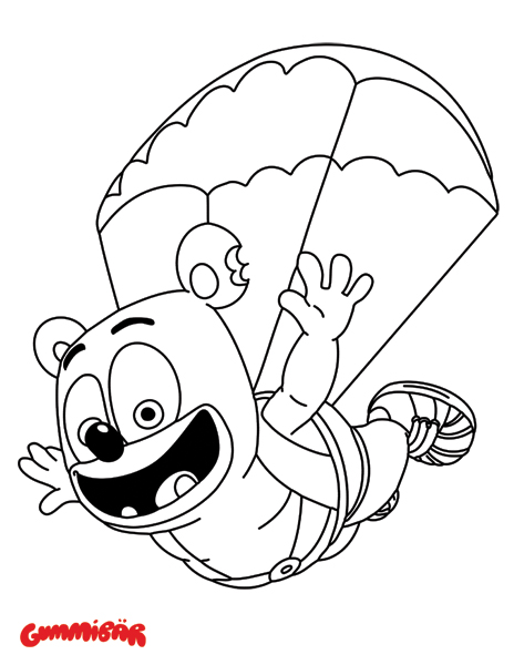 download a free printable gummibr january coloring page