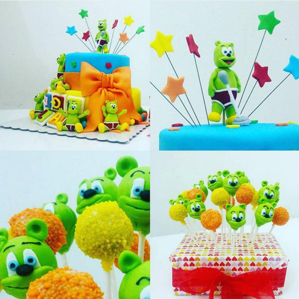 Gummibr Cake And Gummibr Cake Pops Gummibr