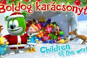 Boldog Karascon Merry Christmas Hungarian Gummibar The Gummy Bear Song