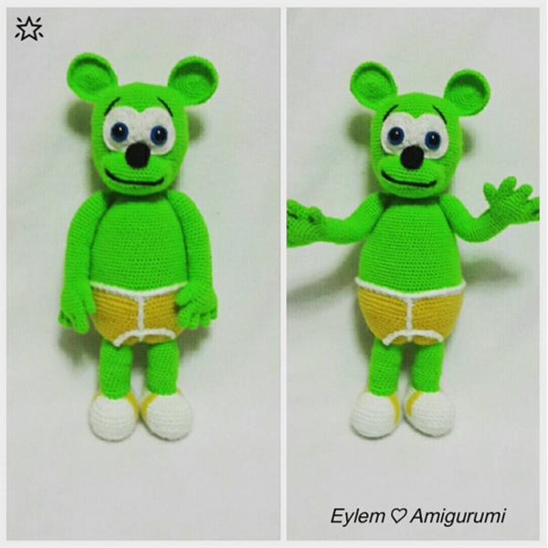Amigurumi Gummibar! - Gummibar
